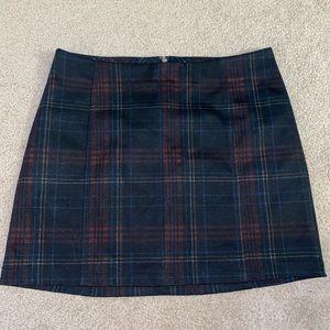 Plaid Wild Fable Skirt